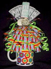 """Thanks a Million""  Candy Bouquets as Business Client or a Friend appreciation gift"
