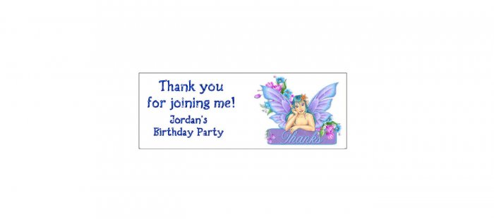 30 FAIRY Lollipop, Sucker Tags Labels, BIRTHDAY PARTY FAVORS.