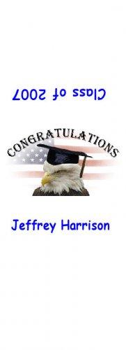 30 Graduation Hershey's Nugget Miniature Wrapper Labels Party Favors #6