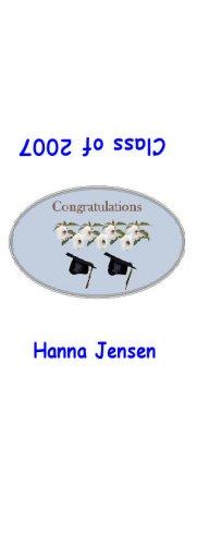 30 Graduation Hershey's Nugget Miniature Wrapper Labels Party Favors #8