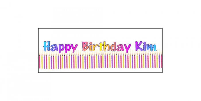 30 BIRTHDAY Candles CRAYON Wrappers Labels, Kid's Party Favors