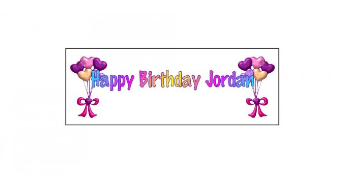 15 BIRTHDAY CRAYON Heart Balloons Wrappers Labels Kid's Party Favors ,