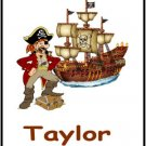 30 Birthday Party Pirate Candy Bar Wrapper Hershey's Nugget Labels Party Favors