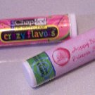 16 Pink Princess Lip Balm Chap Stick Wrapper Birthday party favor label Personalized