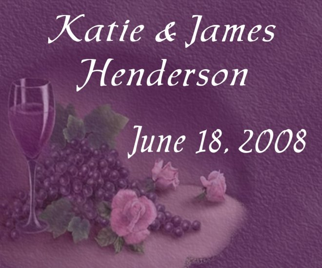 18 Wedding Wine Bottle labels Purple Reception Party Favors High Gloss Labels