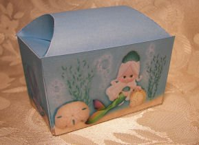 MERMAID TREASURE CHEST Birthday Favor Boxes  Party Favors Set of 6