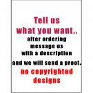 "16 ""Tell Us What You Want"" Lip Balm Chap Stick Wrappers party favor label Personalized"
