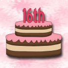 15 Hershey Miniatures Candy Bar Wrapper Labels Sweet 16 Birthday Party Favors