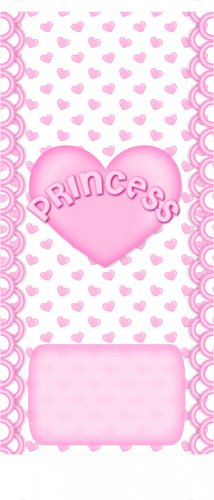 15 Hershey Miniatures Candy Bar Wrapper Labels Pink Princess Birthday Party Favors