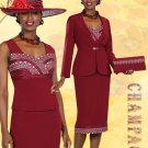NWT Champagne 3pc Formal Mother of Bride-Groom 4-26