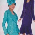 New Women's 3 Piece Suit w/ Detachable Zipped Skirt 6-26W