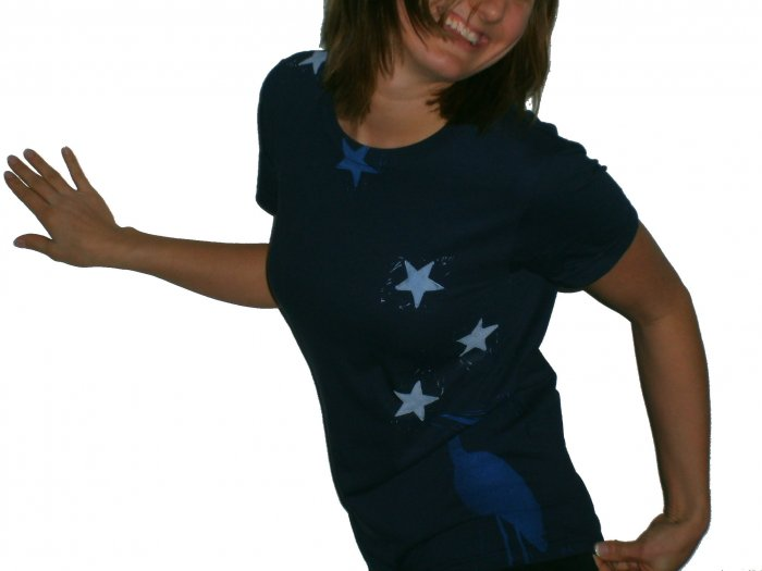 Women's Blue Heron in the Stars Tee