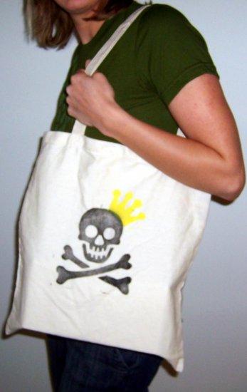 Skull Crown Shopper Bag