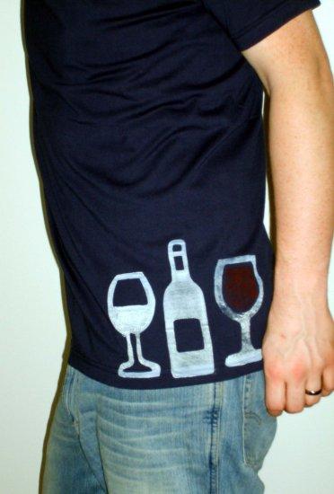 Men's Wine Tee