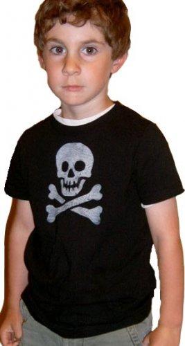 Kid's Skull Tee -Black