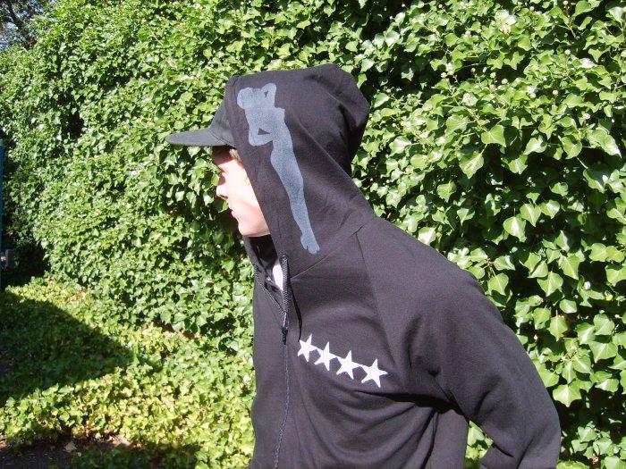 Men's Military Full Zip Hoodie
