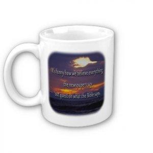 Inspirational Religious Saying Coffee Mug Cup