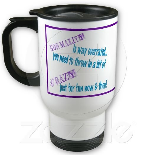 Funny Saying Travel Coffee Mug Cup Stainless Aluminum