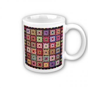 Quilt Design Coffee Mug Cup