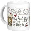 Friendship Gift Coffee Mug Cup