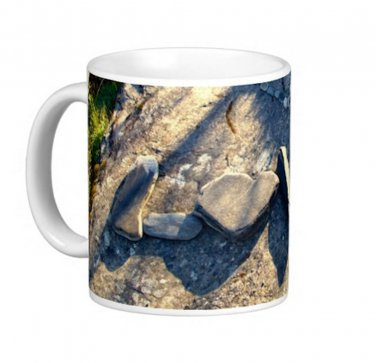 Love Rocks Stones Photo Gift Coffee Mug Cup