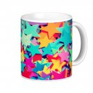 Colorful Stars Gift Coffee Mug Cup