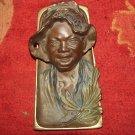 ORIGINAL BLACK AMERICANA Johnny Griffin Ink Well Circa 1920s - RARE ESTATE FIND