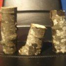 Rustic log vase sm