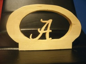 Alabama sports plaque