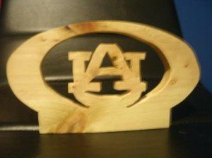 Auburn sports plaque