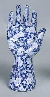 Calico Hand Ring Holder