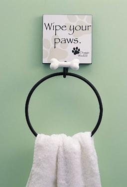Doggie Wisdom Towel Ring