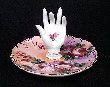 Floral Hand Ringholder Rose 2
