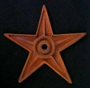Cast Iron Building Star