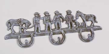 Cowboy Coat Rack