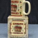 Farm Fresh Cherries Mug & Coaster