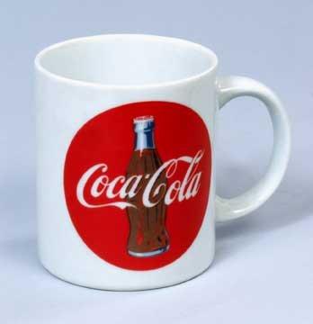 Coke Bullseye Coffee Mug