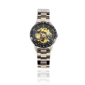98226G Skeleton Mechanical Automatic Men's Watch (Black)