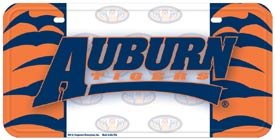 Auburn Tigers License Plate