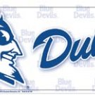 Duke Blue Devils License Plate