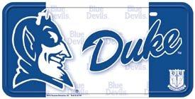 Duke Blue Devils License Plate