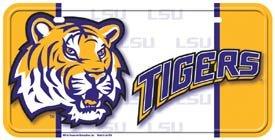 LSU Tigers License Plate