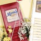 Mom's Diner Retro Scale Clock