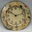 Plate Design Clock