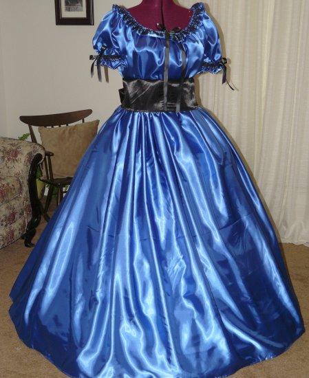 Civil War Ball Gown Reenacting Dickens Victorian Dress Custom Colors