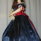 Civil War Ball Gown Reenacting Dickens Victorian Dress Girls Sizes