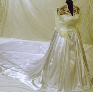 Kate Catherine Middleton Royal Wedding Gown Inspired Replica Custom Made