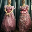 Civil War Reenactment Girls Ball Gown Sizes, Styles and Colors available