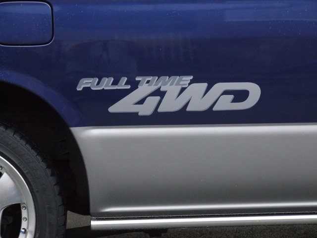 Bongo Full time 4WD decal