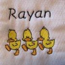 Duck Burp Cloth